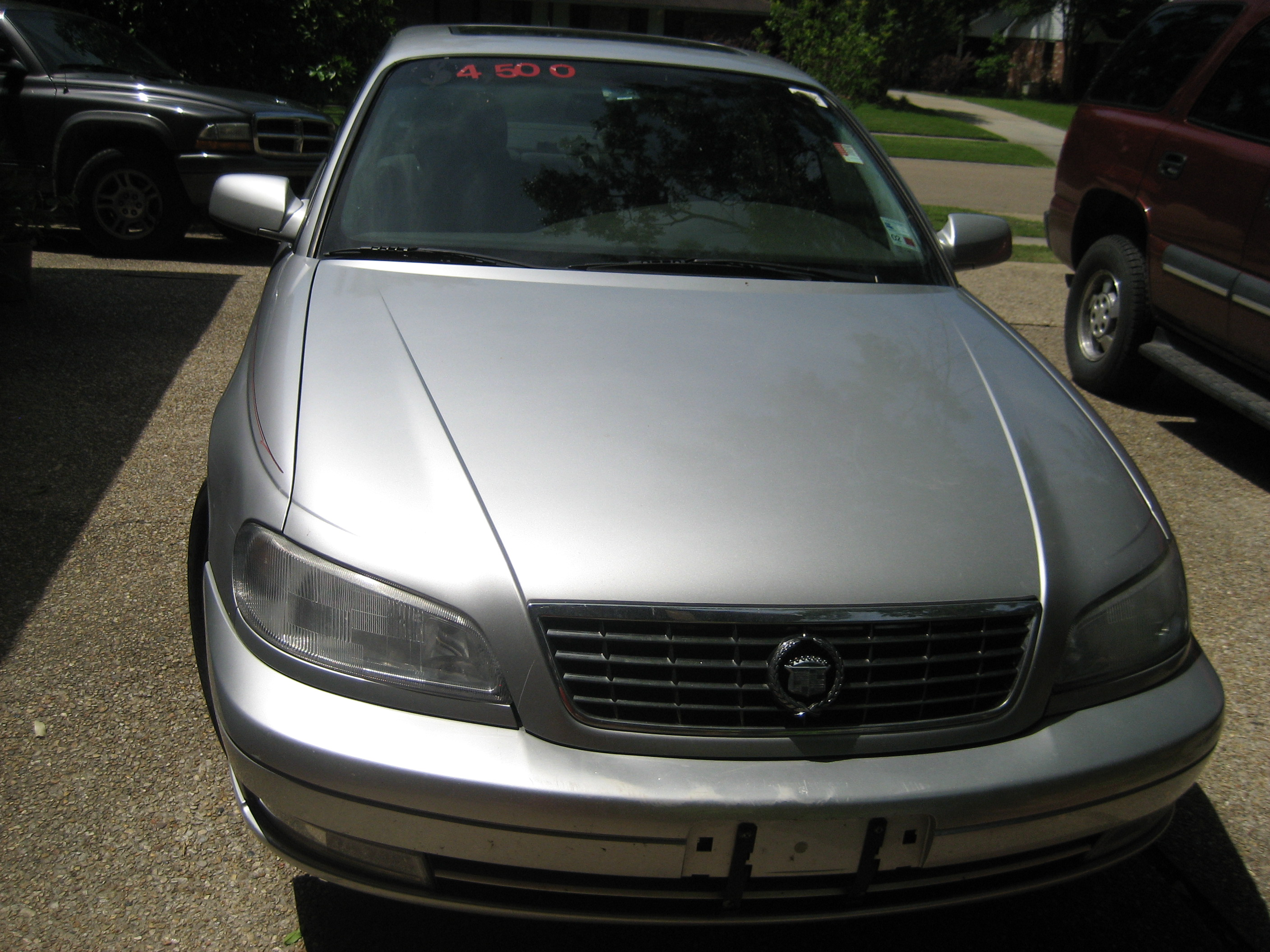 SOLD2000 Silver Cadillac Catera, low mileage, $4500 Sunday, Apr 20